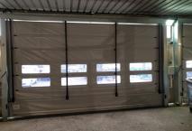 Rideaux souples de  garage plastique à Orly (94) Val de Marne