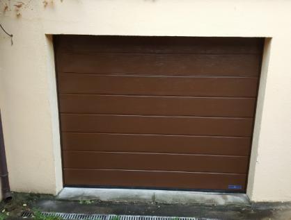 Porte de garage sectionnelle   (95) Val d'Oise